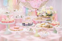 Pastel Donut Birthday Party on Kara's Party Ideas | KarasPartyIdeas.com (8)