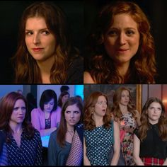 'Bechloe and Sassy Anna' Collage -- I'm sitting in the Rockefeller Center concourse surrounded by business people, and I'm smiling like an idiot, on the verge of tears. Such a weirdo.