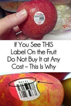 ORGANIC 😀 Most of us don't know that the stickers attached to the fruits and vegetables are there for more than just scanning the price. The PLU code, or the price lookup number on the sticker can help Beef Recipes For Dinner, Mexican Food Recipes, Family Recipes, Sausage Recipes, Family Meals, Healthy Tips, Healthy Recipes, Skinny Recipes, Healthy Food