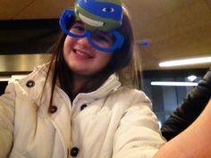 Mentre aspettiamo al McDonald di mangiare e poi via sulla metro di Milano (bruttissima) per andare da VILU