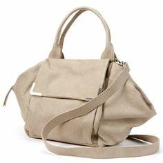 Sondra Roberts Soft Tone Convertible Leather Satchel