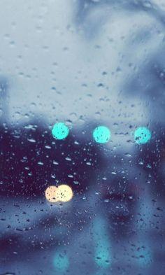 480x800 Wallpaper rain, glare, glass, drops