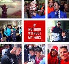 Social Reds: Manchester United players on social media -  https://manunitedsport.blogspot.com