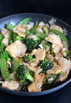 Chicken and Broccoli Stir Fry with homemade stir fry sauce that can be used with anything.