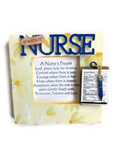 Your place to buy and sell all things handmade Nurse Sayings, Nurse Quotes, Army Gifts, Military Gifts, Graduation 2015, Graduation Ideas, Work Gifts, Office Gifts, Employee Appreciation