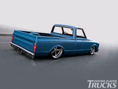 1967 Blue GMC Truck