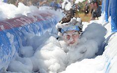 5k Foam Fest - Get filthy clean at this fun run