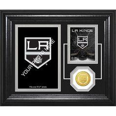 Los Angeles Kings Fan Memories Bronze Coin Desktop Photo Mint