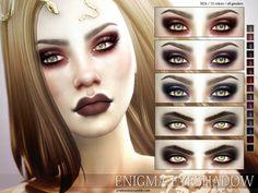 Enigma Eyeshadow N24 by Pralinesims at TSR via Sims 4 Updates