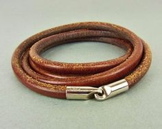 BROWN LEATHER LONG NECKLACE FOURFOLD BRACELET. Get the lowest price on BROWN LEATHER LONG NECKLACE FOURFOLD BRACELET and other fabulous designer clothing and accessories! Shop Tradesy now