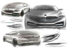 BMW Pininfarina Gran Lusso Coupé Concept Editorial by Jean Park at Coroflot.com