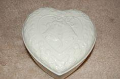 Lenox Heart Box with Lid Wedding Promises Bells