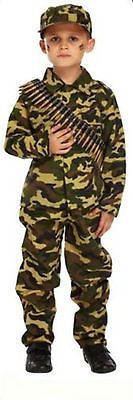Boy boys army camouflage soldier book day fancy #dress costume #various #sizes,  View more on the LINK: http://www.zeppy.io/product/gb/2/272124108806/