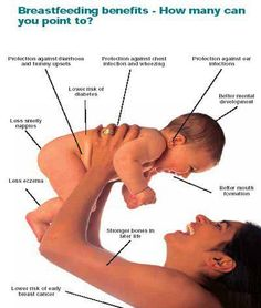 Some of the many benefits of breastfeeding, great for not only baby but also mama too...    http://babies411.com/table/information-station/breastfeeding/  #breastfeeding #nursing