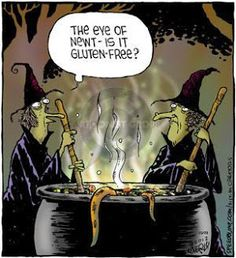 Dying for Chocolate: Cartoon of the Day: Gluten-Free