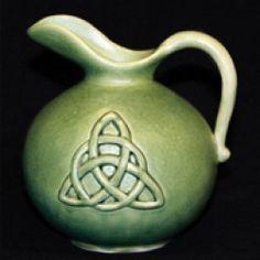 celtic trinity knot pitcher