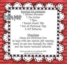 Fun Survival Kits on Pinterest | Survival Kits, Teacher Survival Kits ...