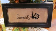 Simplify by PrimitiveBelle on Etsy, $21.95