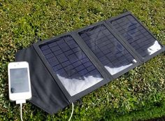 How to power Gadgets While in Nature-  Instapark 10-watt solar charger