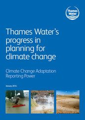 Thames Water's progress in planning for climate change