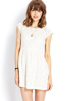 Colors: Creme, Green and Midnight  Ladylike Lace Dress   FOREVER21 - 2000063545