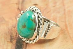 Crow Springs Turquoise Ring