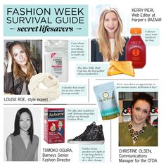 """Fashion Week Secret Lifesavers"" by polyvore-editorial ❤ liked on Polyvore"