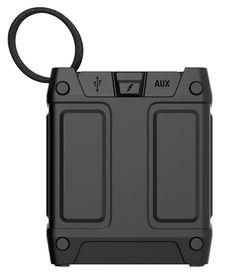 Amazon.com: Skullcandy Shrapnel Water-resistant Drop-proof Bluetooth Portable Speaker with On-Board Mic, Black: Electronics