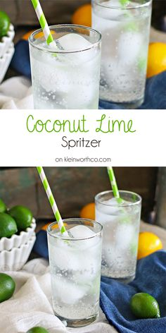 Coconut Lime Spritze