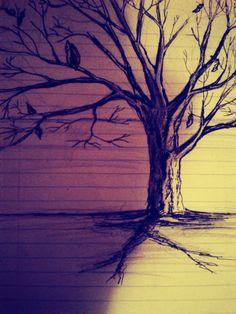 tree drawing | Tumblr