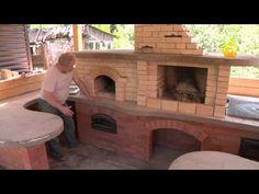 Уличный комплекс с печью древних ариев | Дачное видео: первый интернет-канал о Даче и Доме