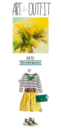 Art to Outfit : Bridal Shower  |  The Fresh Exchange