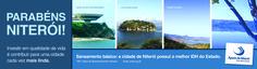 Anúncio de jornal pelo aniversário de Niterói - 2012