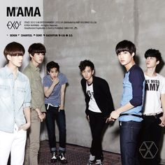 Exo-K first mini album (debut album) tracks include; 1)MAMA 2)What is Love 3)History 4)Angel 5)Two Moons 6)Machine