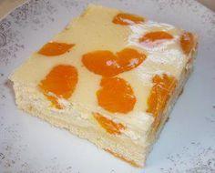 Das perfekte Mandarinen - Käse - Kuchen-Rezept mit Bild und einfacher Schritt-für-Schritt-Anleitung: Rührteig herstellen, auf´s gefettete Blech streichen.