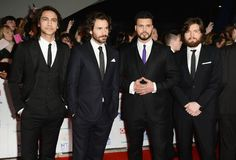 Luke Pasqualino, Santiago Cabrera, Howard Charles and Tom Burke