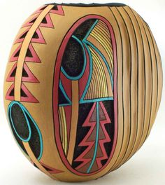 saw this as a pin, then saw gourd visions & knew why I liked it so much ...it is a Phyllis Sickles work of art.  I love her work! I am inspired by her carving........