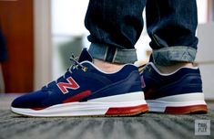 NEW BALANCE 1550 REVLITE 'NAVY/RED' (via Kicks-daily.com)
