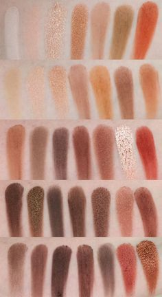 Morphe 35O palette swatches