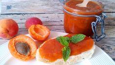 Sárgabarack lekvár cukor nélkül - nagymama lekvárja diétásan! - Salátagyár Vegan Vegetarian, Paleo, Stevia, Cheesecake, Pudding, Healthy Recipes, Healthy Food, Sweets, Fruit