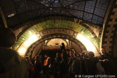 Tour the old City Hall station in NYC if you're a transit museum member! Or catch a glimpse of it when the 6 train loops to go the opposite way.