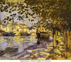 Claude Monet. The Seine at Rouen (La Seine à Rouen).