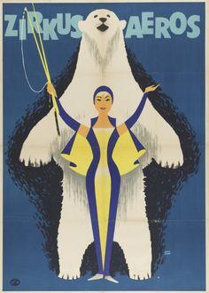 Juxtapoz Magazine - Vintage European Circus Posters