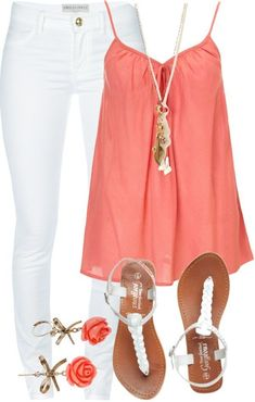 17 Casual Chic Summer Outfit Ideas for 2015 - Styles Weekly