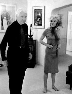 "infinitemarilynmonroe:  """"Marilyn Monroe and Carl Sandburg photographed by Arnold Newman, 1961.  "" """