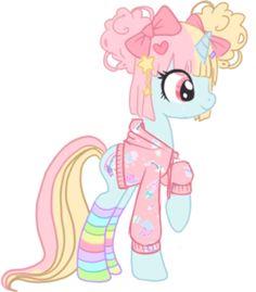 my little fairy kei pony