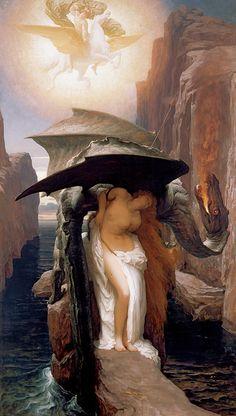 フレデリック・レイトン《ペルセウスとアンドロメダ》 1891年 油彩・カンヴァス ©Courtesy National Museums Liverpool, Walker Art Gallery