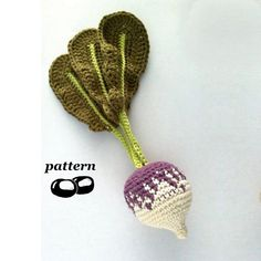 Crochet Turnip Pattern / Crochet Vegetable by LittleConkers, £2.50
