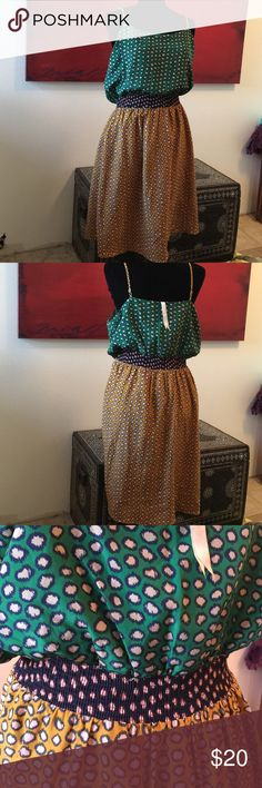 Hem & thread dress This beautiful dress has been worn but is in great condition with no problems it is absolutely perfect for fall bundle for a better price! Anthropologie Dresses Midi
