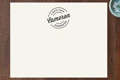 Alford Park Personalized Stationery by Jennifer Wi... | Minted